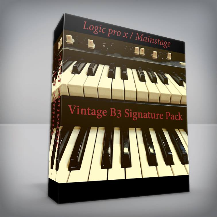 Vintage B3 Signature Pack - Logic Pro X / MainStage Hammond B3 Organ