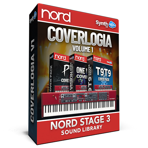 LDX164 - CoverLogia V.1 - Complete Cover: Pink Floyd + Toto + Queen + Bonus - Nord Stage 3