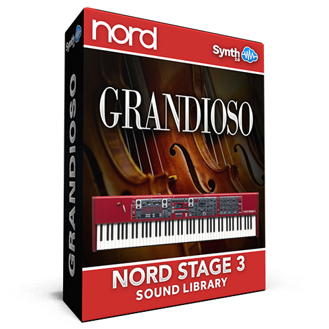 ASL027 - Grandioso Library - Nord Stage 3