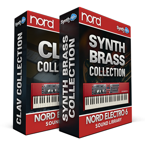 ASL014 - ( Bundle ) - Synth - Brass Collection + Clav Collection - Nord Electro 6 Series