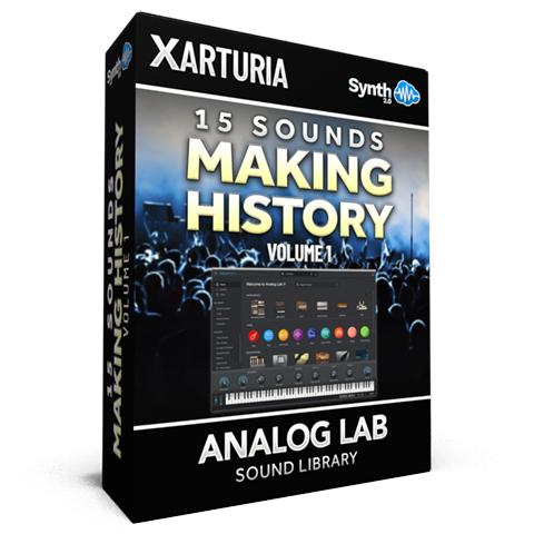 SCL152 - 15 Sounds - Making History Vol.1 - Arturia Analog Lab V