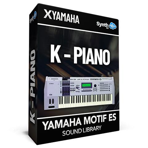 LDX129 - K - Piano - Yamaha Motif ES