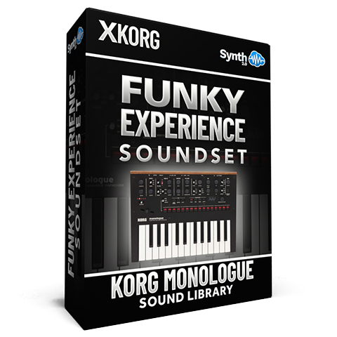 SCL345 - Funky Experience Soundset - Korg Monologue