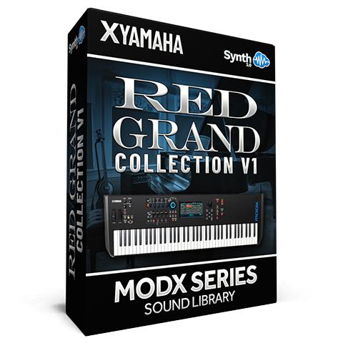 SCL318 - ( Bundle ) - Red Grand Collection V1 - Yamaha MODX