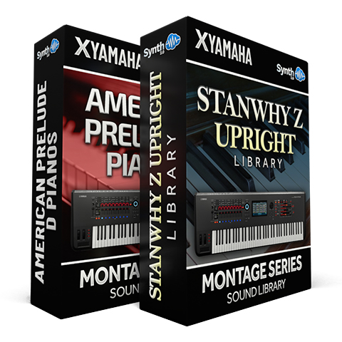 SCL338 - ( Bundle ) American Prelude D Pianos + StanWhy Z Upright - Yamaha MONTAGE