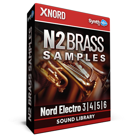 SCL121 - N2 Brass Samples - Nord Electro 3 / 4 / 5 / 6