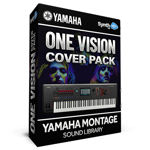 LDX200 - One Vision Cover Pack - Yamaha MONTAGE