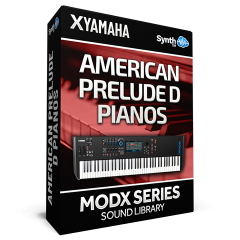 SCL225 - American Prelude D Pianos - Yamaha MODX