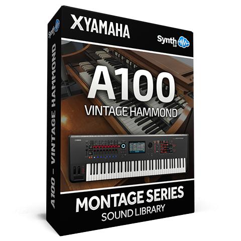 SCL221 - A100 Vintage Hammond - Yamaha MONTAGE