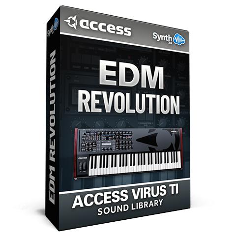 LFO005 - EDM Revolution - Access Virus TI / TI2 / Polar / Snow