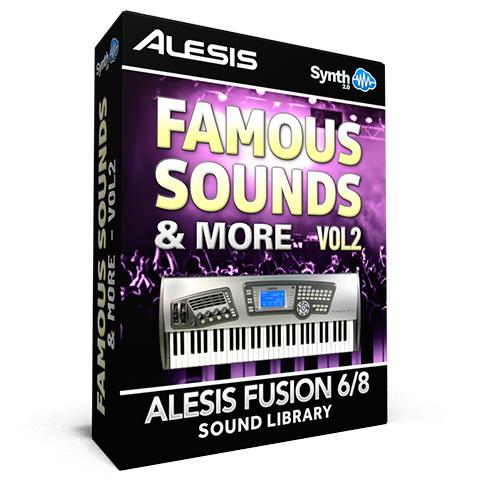 SCL37 - Famous Sounds & more Vol.2 - Alesis Fusion 6/8