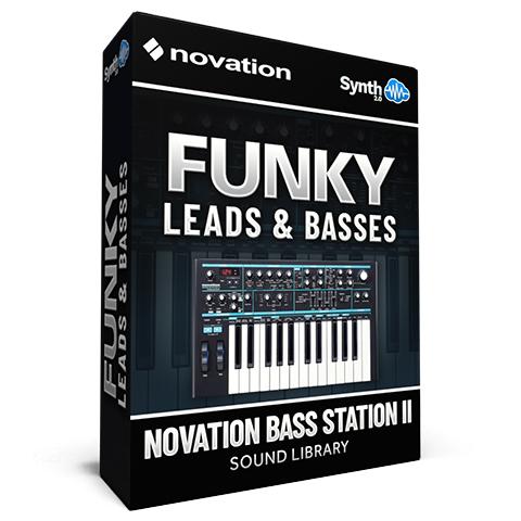 SCL297 - Funky Leads & Basses - Novation Bass Station II / AFX Station