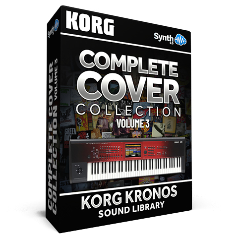 SCL22 - CoverLogia - Complete Cover Collection V3 ( Pink Floyd + Queen + Toto + 80's Cover + Bonus DX sounds ) - Korg Kronos