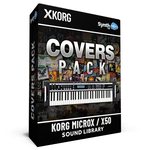 SCL01 - Covers Pack - Korg MicroX / X50