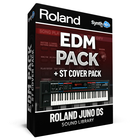 SCL88 - EDM Pack + STRANGER THINGS Cover Pack  Roland Juno-DI