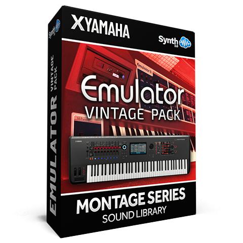 SCL218 - Emulator Vintage Pack - Yamaha MONTAGE
