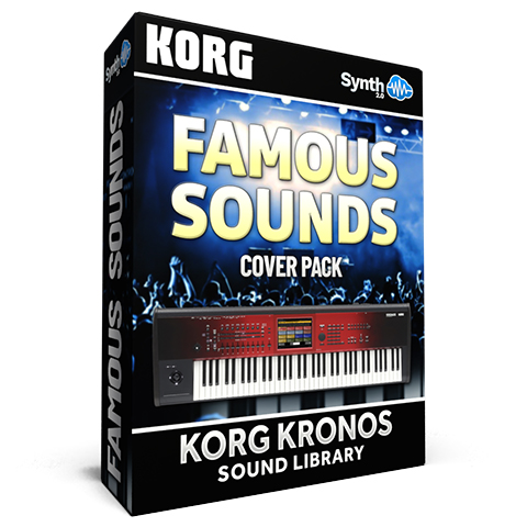 SCL152 - Famous Sounds Cover Pack - Korg Kronos Series