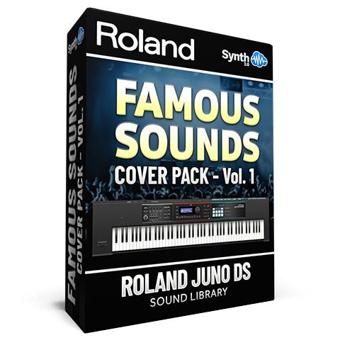 SCL152 - Famous Sounds Cover Pack Vol.1 - Roland Juno-DS