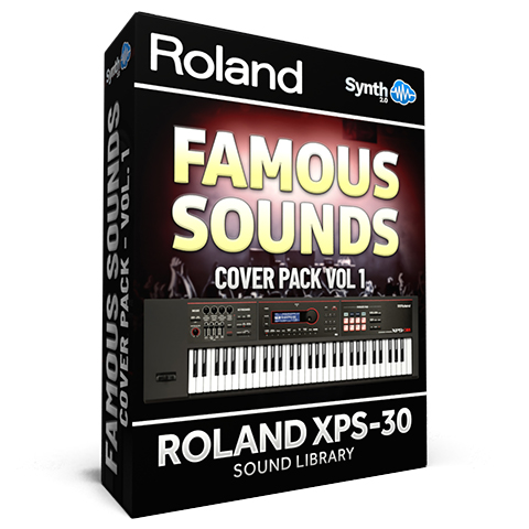 SCL152 - Famous Sounds Cover Pack Vol.1 - Roland XPS-30