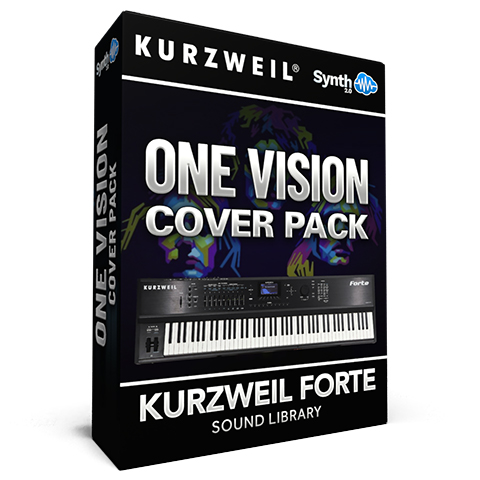 LDX136 - One Vision Cover Pack - Kurzweil Forte