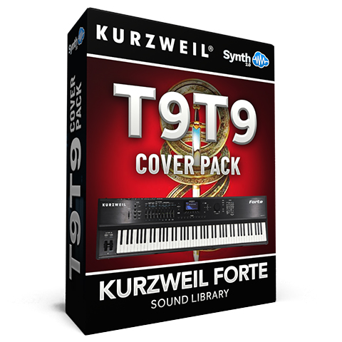LDX137 - T9T9 Cover Pack - Kurzweil Forte