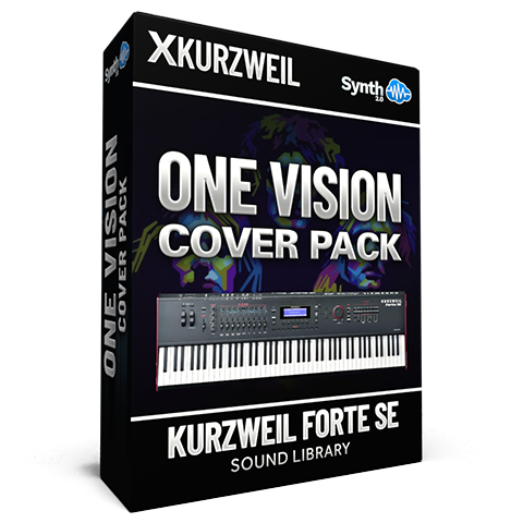 LDX136 - One Vision Cover Pack - Kurzweil Forte SE