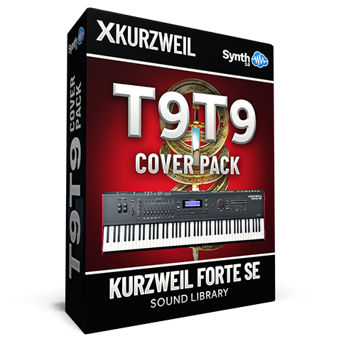 LDX137 - T9T9 Cover Pack - Kurzweil Forte SE