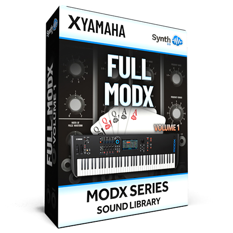 SCL276 - ( Bundle ) - FULL MODX Vol.1 - Yamaha MODX