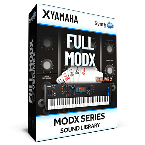 SCL277 - ( Bundle ) - FULL MODX Vol.2 - Yamaha MODX