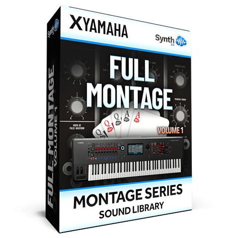 SCL276 - ( Bundle ) - FULL MONTAGE Vol.1 - Yamaha MONTAGE