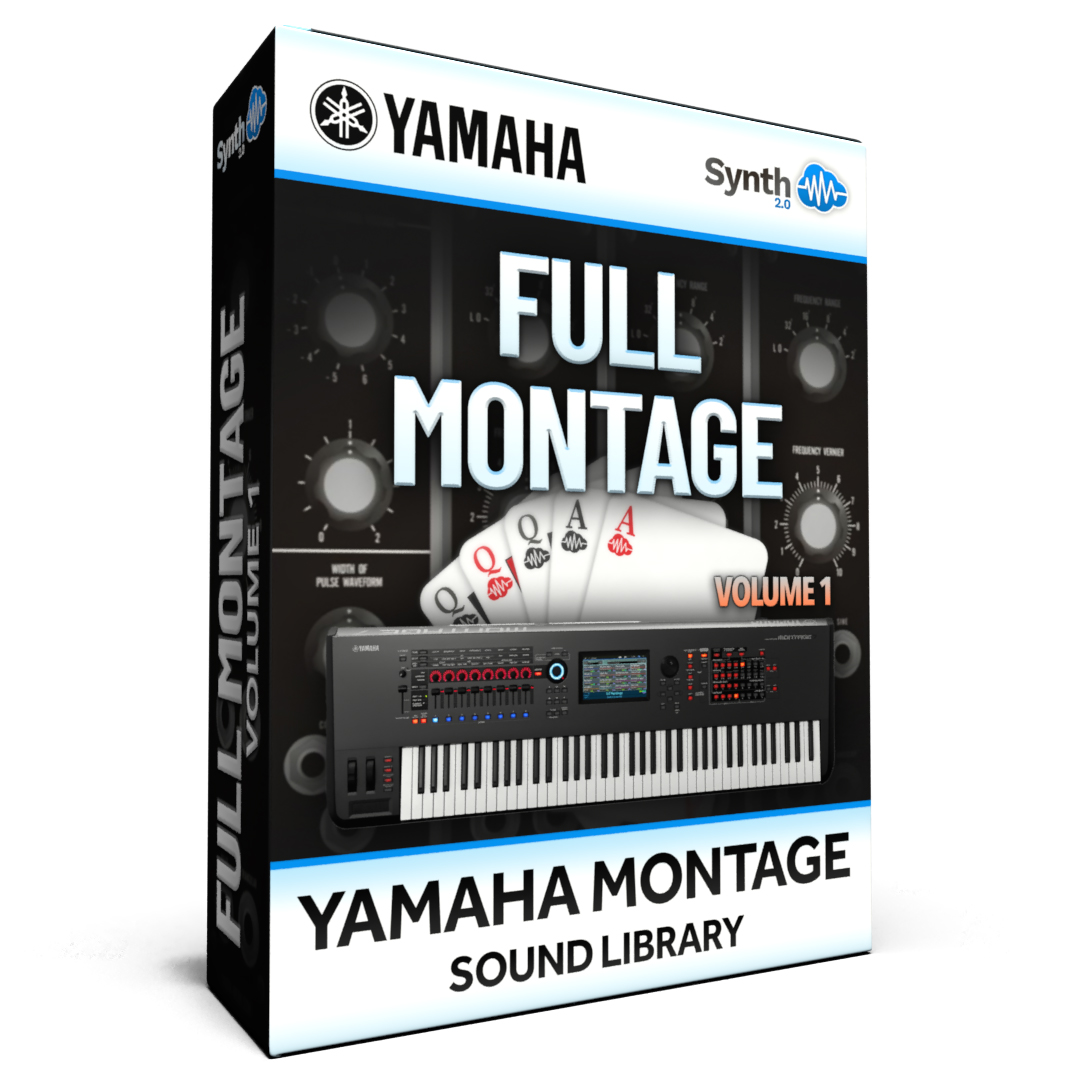 SCL276 - ( Bundle ) - FULL MONTAGE Vol.1 - Yamaha MONTAGE
