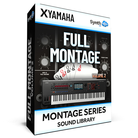 SCL277 - ( Bundle ) - FULL MONTAGE Vol.2 - Yamaha MONTAGE