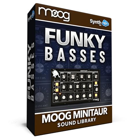 SCL324 - Funky Basses - Moog Minitaur