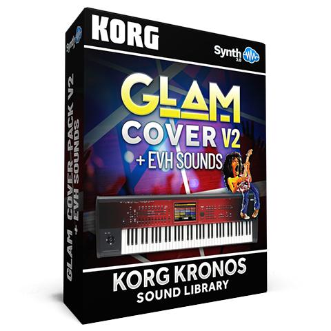 SCL325 - Glam Cover Pack V2 + Van Halen Cover - Korg Kronos / X / 2
