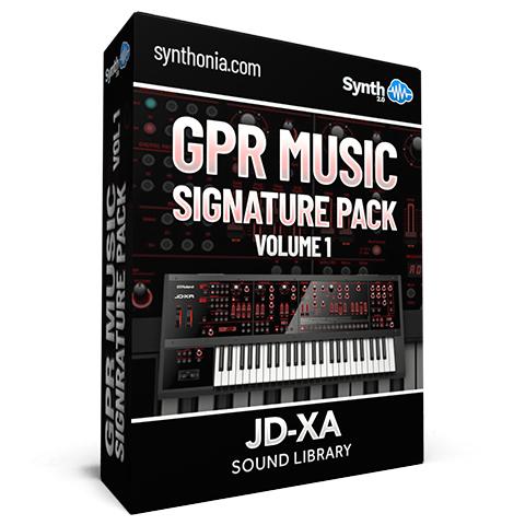 SCL169 - GPR MUSIC Signature Pack Vol.1 - JD-XA