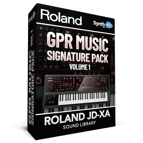 SCL169 - GPR MUSIC Signature Pack Vol.1 - Roland JD-XA
