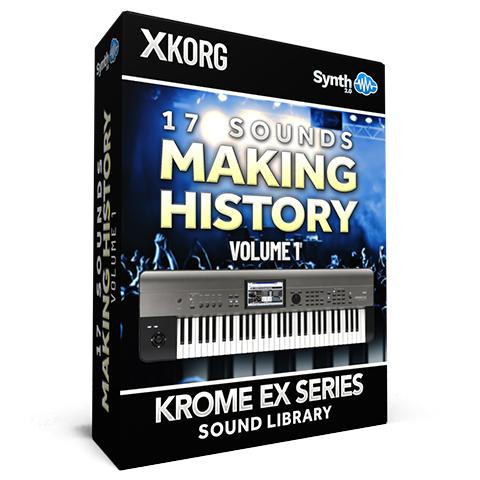 SCL152 - 17 Sounds - Making History V1 - Korg Krome EX