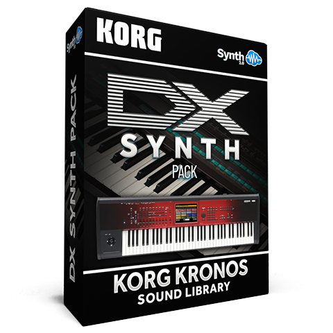 SCL18 - DX Synth Pack - Korg Kronos Series