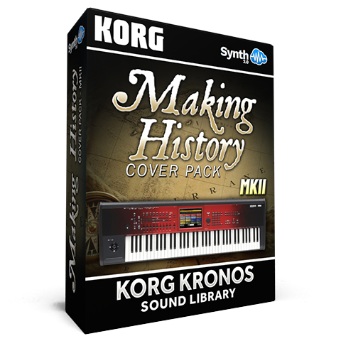 SCL23 - Making History Cover Pack MKII - Korg Kronos Series