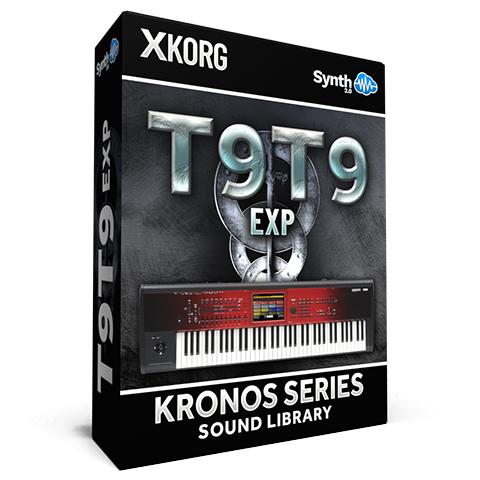 SCL285 - T9t9 EXP Cover Pack - Korg Kronos