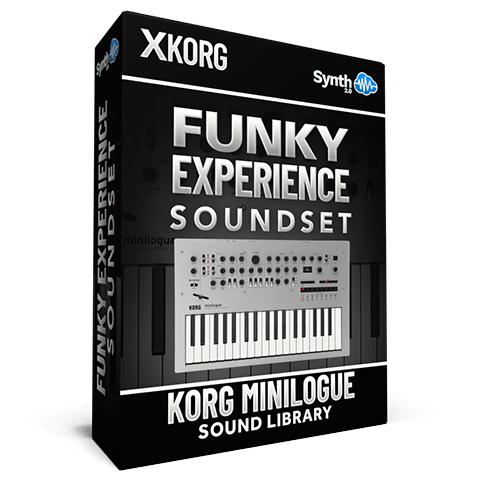 SCL372 - Funky Experience Soundset - Korg Minilogue