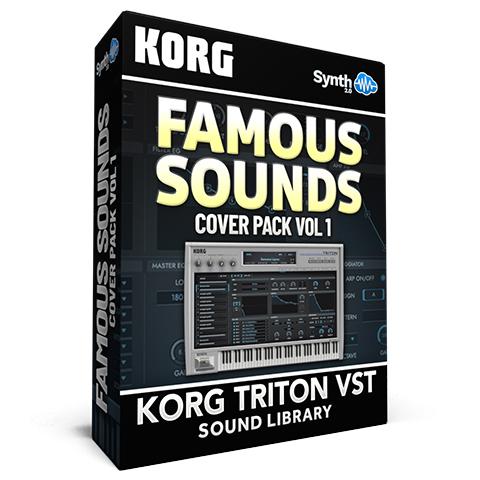 SCL152 - Famous Sounds Cover Pack Vol. 1 - Korg Triton VST