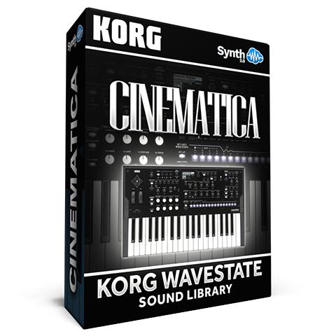 LFO002 - Cinematica Vol.1 - Korg Wavestate