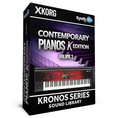 SCL194 - Contemporary Pianos Red Ed. Vol.1 - Korg Kronos Series