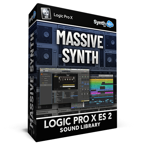 SCL266 - Massive Synth - Logic Pro X Mainstage ES2