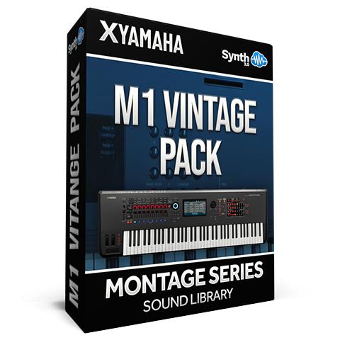 SCL268 - M1 Vintage Pack - Yamaha MONTAGE