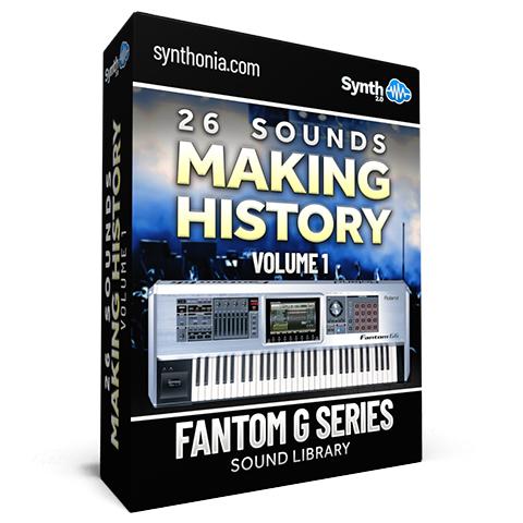 SCL152 - 26 Sounds - Making History Vol.1 - Fantom G