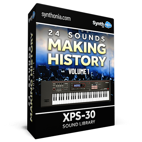 SCL152 - 24 Sounds - Making History Vol.1 - XPS-30