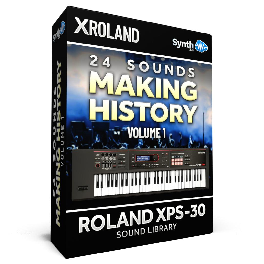 SCL152 - 24 Sounds - Making History Vol.1 - Roland XPS-30