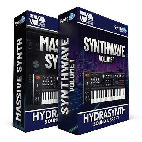 SWS022 - ( Bundle ) - Massive Synth + Synthwave Pack - ASM Hydrasynth